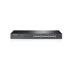 SWITCH CON 24 PUERTOS 10/100MBPS, PARA RACK