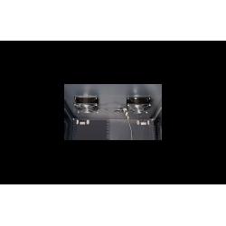 """ARMARIO RACK 9U MURAL CON ACCESORIOS 19"""" 600X450X501mm- VENTILADORES"""