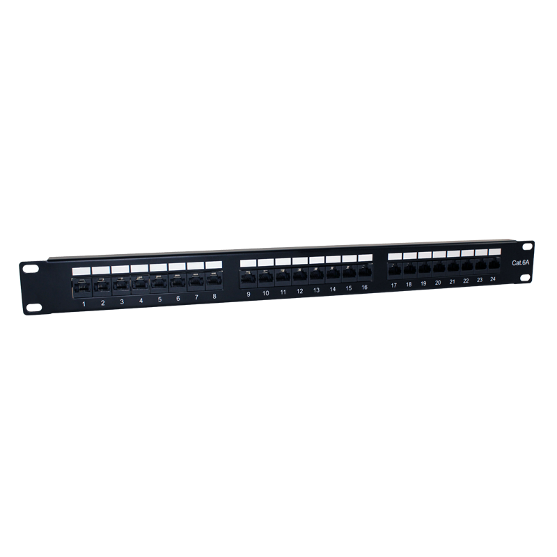 "PATCH PANEL 19"" CAT.6A 24 PUERTOS UTP"