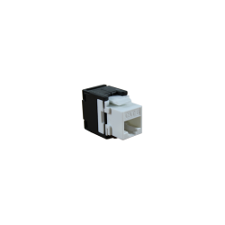 CONECTOR HEMBRA RJ45 CAT.6 UTP TOOLESS 180º- FRONTAL