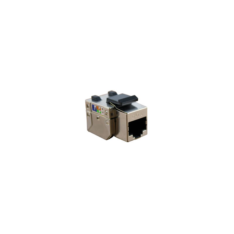 CONECTOR HEMBRA RJ45 CAT.6 FTP 90º- LATERAL