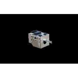 CONECTOR HEMBRA RJ45 CAT.6 FTP 90º- TRASERA