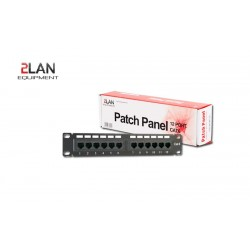 "PATCH PANEL 10"" CAT.6 12 PUERTOS UTP - 2LAN"