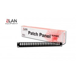 "PATCH PANEL 19"" VACIO 24 PUERTOS-2LAN"