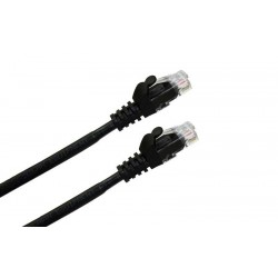 LATIGUILLO RJ45 CAT.6A UTP LSZH 1M COLOR NEGRO