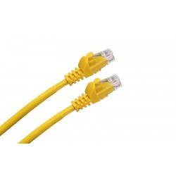 LATIGUILLO RJ45 CAT.6A UTP LSZH 1M COLOR AMARILLO