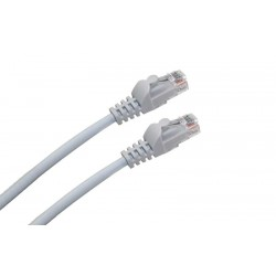 LATIGUILLO RJ45 CAT.6A UTP LSZH 0,5M COLOR GRIS