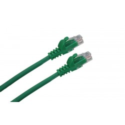 LATIGUILLO RJ45 CAT.6A UTP LSZH 0,5M COLOR VERDE