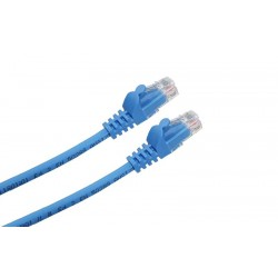LATIGUILLO RJ45 CAT.6A UTP LSZH 1M COLOR AZUL