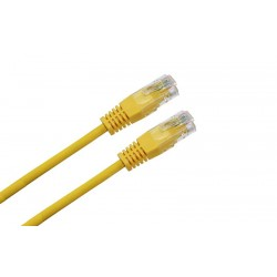LATIGUILLO RJ45 CAT.6 UTP LSZH 1M COLOR AMARILLO