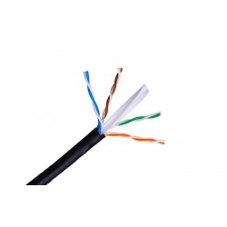 CABLE CAT.6 UTP RIGIDO PARA EXTERIORES