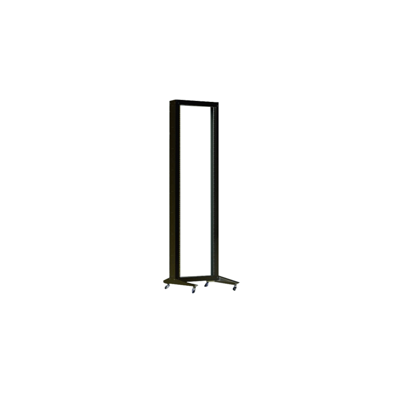 "BASTIDOR RACK 42U 19"" 600 X 100 SIMPLE CON ACCESORIOS"