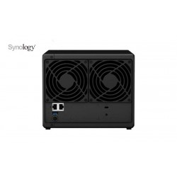SYNOLOGY DS418 NAS 4 Bay Disk Station - trasera