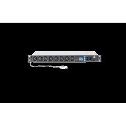 REGLETA PDU INTELIGENTE 8 CONECTORES C13 3500W- FRONTAL