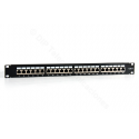 "PATCH PANEL 19"" CAT.6 24 PUERTOS FTP- FRONTAL"
