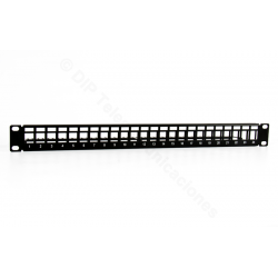 "PATCH PANEL 19"" VACIO 24 PUERTOS- FRONTAL"