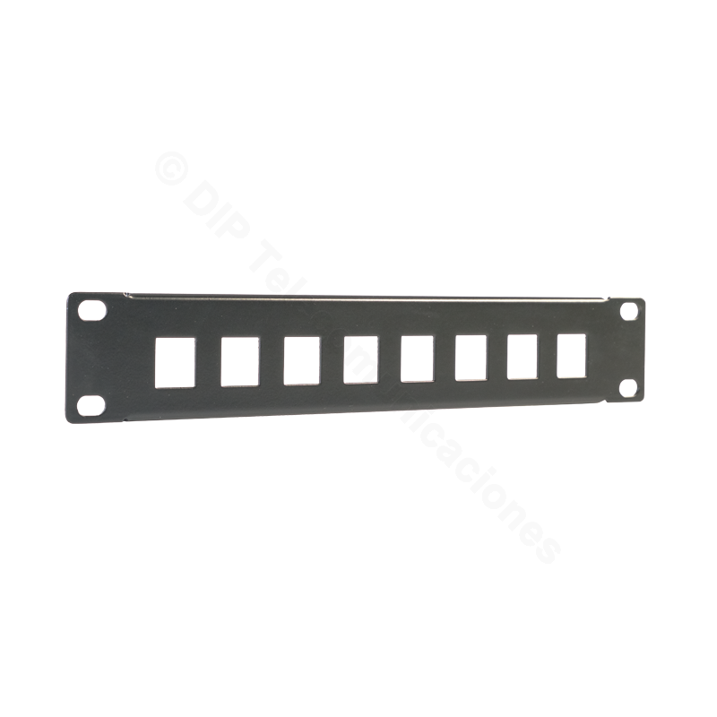 "PATCH PANEL 10"" 8PTOS. VACIO - FRONTAL"