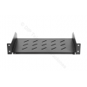 "BANDEJA RACK 19"" 2U SUJ.FRONTAL PROF.300MM"