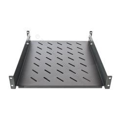 "BANDEJA RACK 19"" 2U PROF. REAL 550mm EXTENSIBLE- FRONTAL"