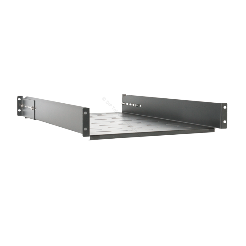 "BANDEJA RACK 19"" 2U PROF. REAL 710MM EXTENSIBLE"