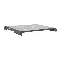 "BANDEJA RACK 19"" 1U PROF. REAL 550mm EXTENSIBLE."