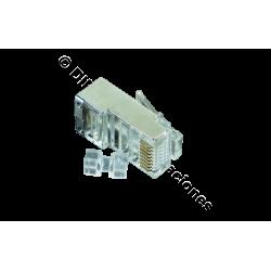 CONECTOR MACHO RJ45 CAT.6A FTP /UNIDAD