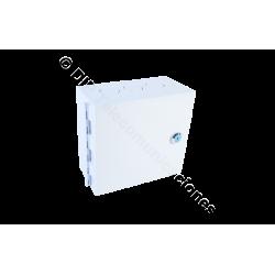 CAJA BASTIDOR 50 PARES KRONE CON LLAVE 21.5X19X10.2.