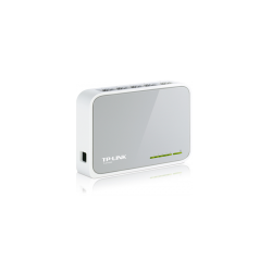 SWITCH DE SOBREMESA MINI CON 5 PUERTOS 10/100MBPS- FRONTAL