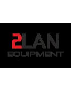 """Sustitución Puertas armario rack 19"""" suelo 18U 2LAN Equipment"""