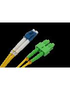 Latiguillos fibra optica Monomodo LC-SC - DIP Telecomunicaciones