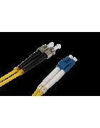 Latiguillos fibra optica Monomodo LC-ST - DIP Telecomunicaciones