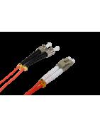 Latiguillos fibra optica Multimodo LC-ST – DIP Telecomunicaciones